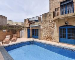 Private Pool at Tan-Nahla Farmhouse, Xaghra – Gozo