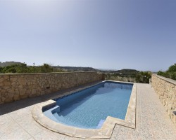 Private Pool at Ta'Karkar Farmhouse, Xaghra – Gozo